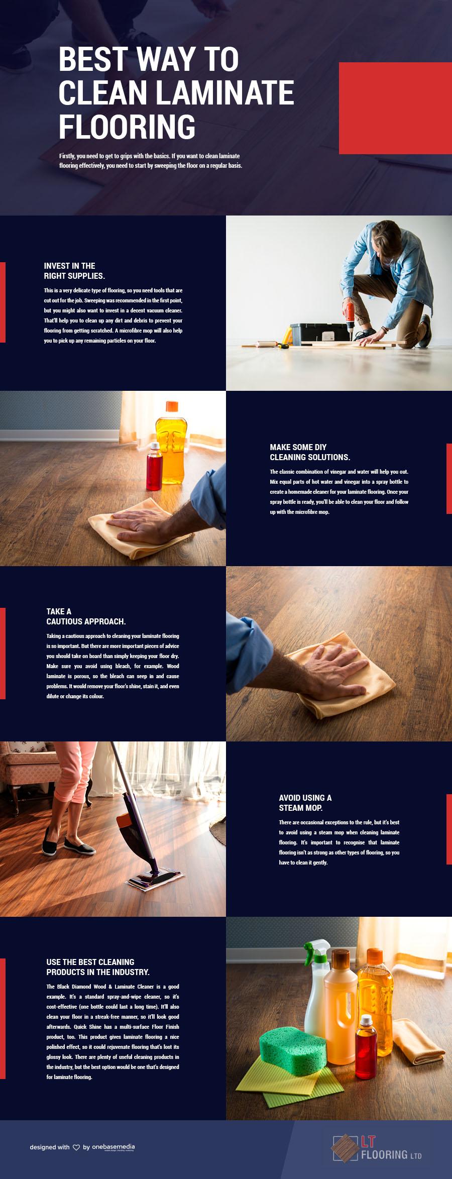 Ways To Clean Laminate Floors